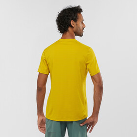Salomon XA Camo Tee Men lemon curry/heather